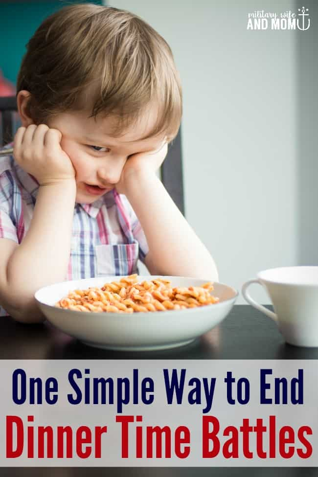Struggling with picky eating? Love this tip to end dinner time battles.