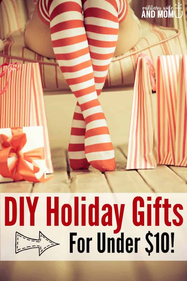 DIY essential oil gifts that cost less than $10. We love these gifts!