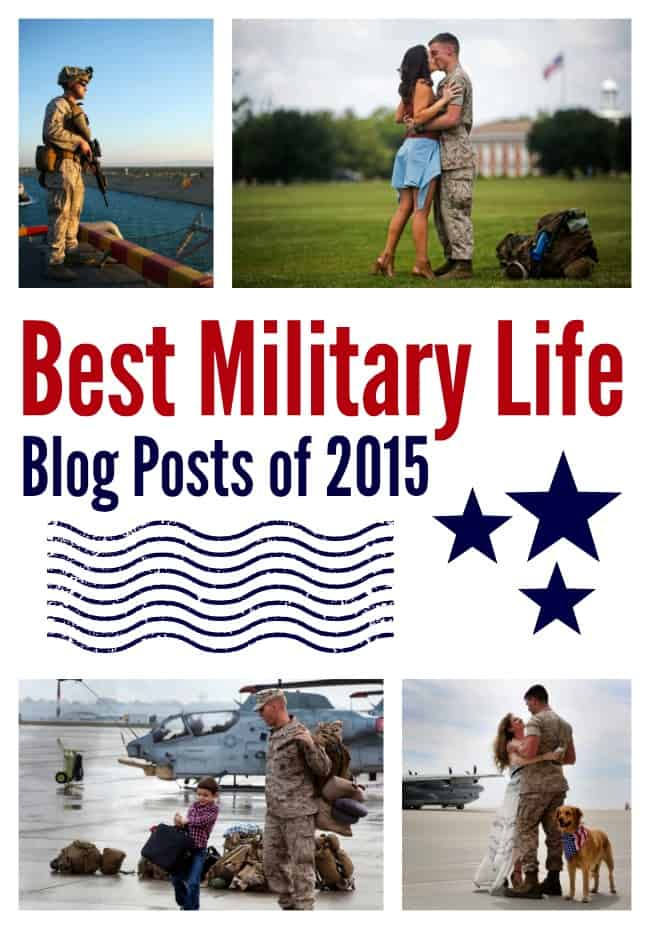 Written for military spouses by military spouses. What a great list!