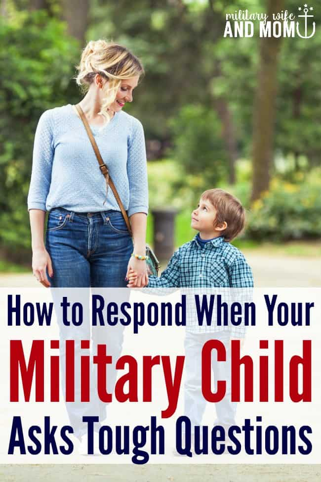 Helpful phrases to say to your military child or military kid. Useful during military deployment, military homecoming and military PCS moves.