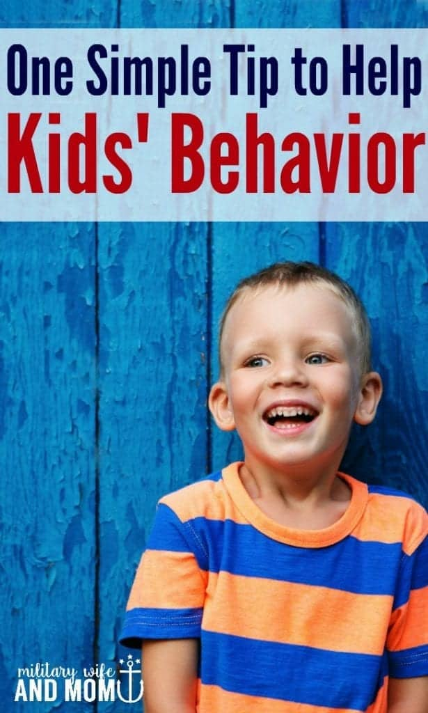 Love this tip to improve toddler behavior and minimize toddler power struggles. Awesome positive parenting tip.