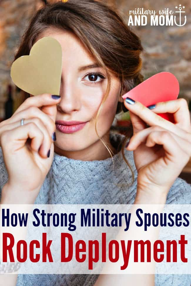 Strong military spouses all have something in common! Are you a strong military spouse? Military wife. Military girlfriend. Military family. Military deployment.