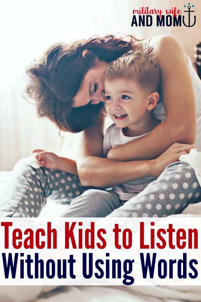 Brilliant ways to build great listening skills using non-verbal communication. I would've never thought of these listening hacks. Great for toddler listening and beyond.