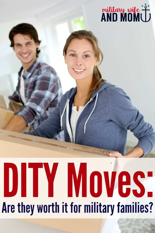 how to determine if a dity move is worth it the military wife and mom