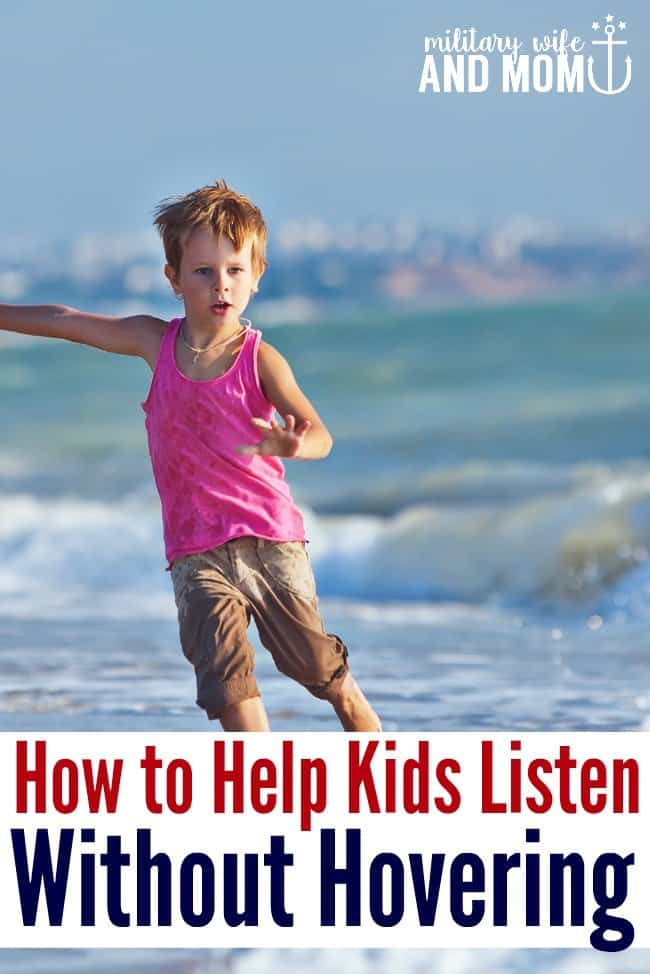Learn 3 AWESOME strategies for how to teach listening in unsafe situations, like running in a parking lot, touching a hot stove or pushing another child.