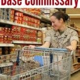 HILARIOUS take on what it's like for a military spouse / military family to shop at the commissary!