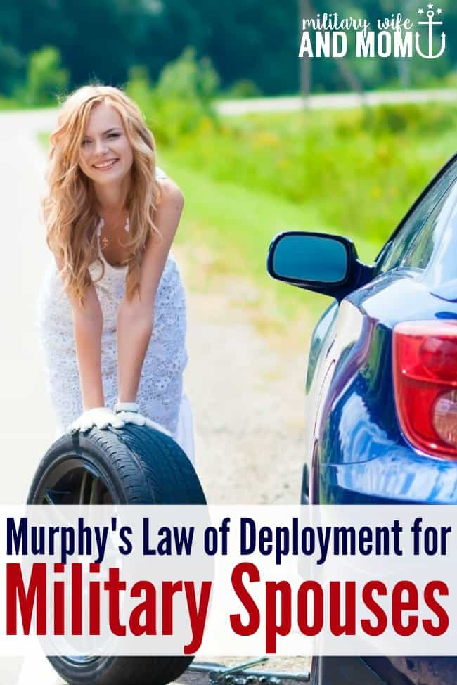Hilarious take on Murphy's Law for regular people vs. military spouses! #ChevySalutes Sponsored by Chevorlet.