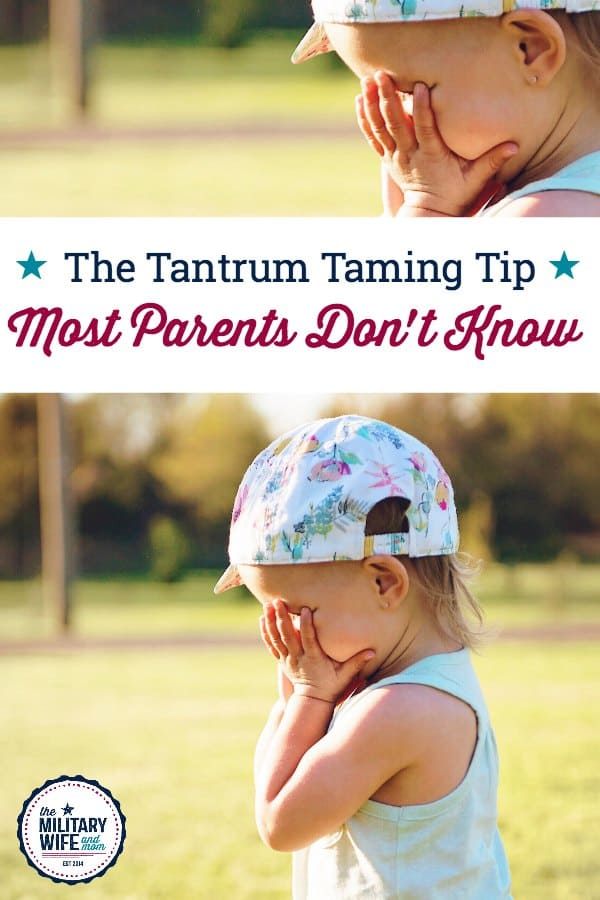 How to tame tantrums with strong willed tips. Try this simple tip.
