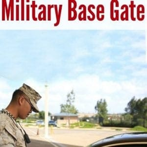 Awesome tips for military spouses to always have a smooth experience at the military base gate | Military wife | Military family | Military significant other | Military girlfriend