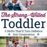 strong-willed toddler