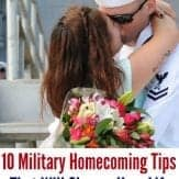 "One reader commented...""This is the best military homecoming tips article I've ever read."""