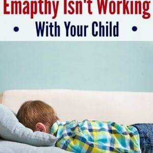 """I hear it time and time again, """"Empathetic parenting doesn't work with my kid."""" There are four major misunderstandings about empathy. Learn how to fix it."""