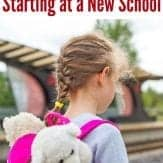 Simple and easy ways to help your military child adjust to a new school!