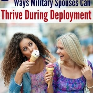 "Are you a military spouse looking for things to do during deployment? LOVE this list that goes way beyond ""stay busy."""