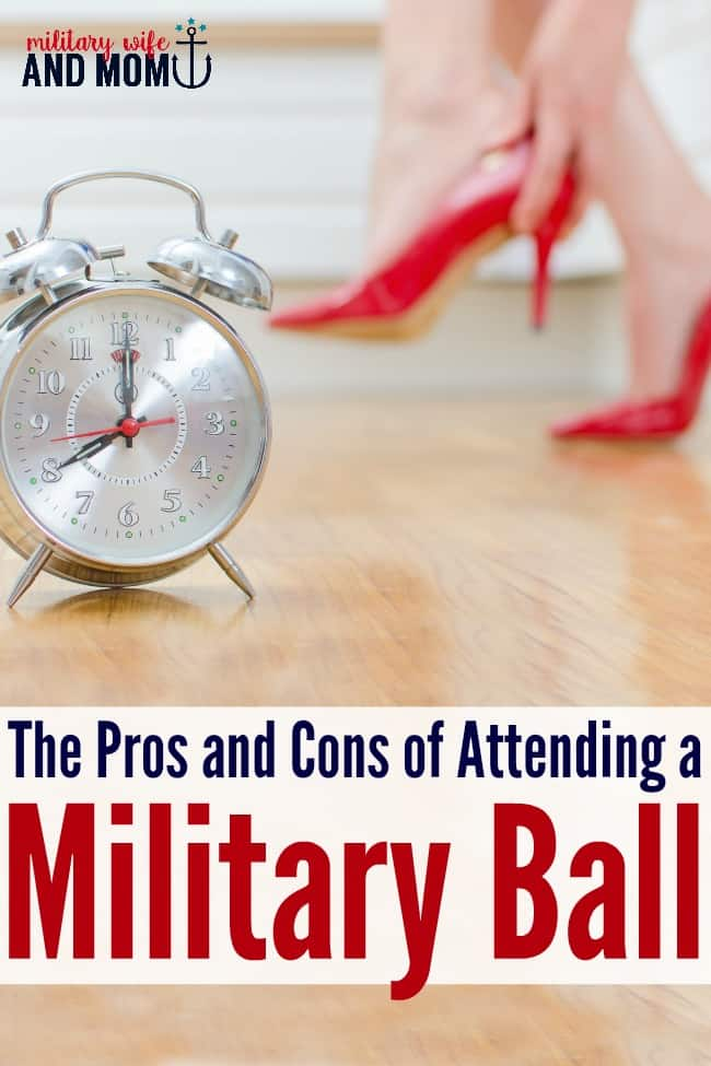 Ready to attend your next military ball? Love this list of pros and cons of attending | military wife | military girlfriend | military ball dresses
