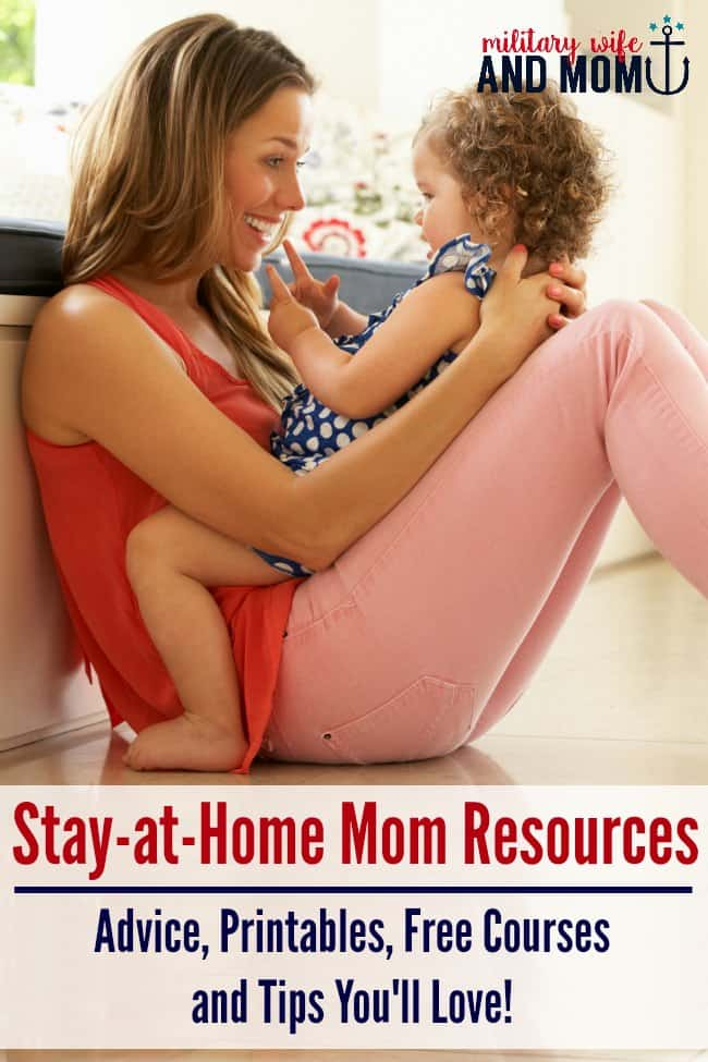 With the right stay-at-home mom resources you can discover happier and more peaceful days with your kids. Free email courses, tips and printables for moms!