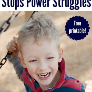 Wow. I had no idea about this! Such a creative way to avoid a power struggle with your kids.