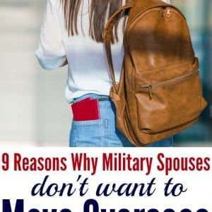 Headed for an OCONUS duty station? Brutally honest reasons why military spouses don't want to move overseas | military wife | military life | military family | moving overseas | PCS move OCONUS