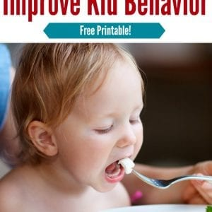 Focus on these 7 food to help improve your child's behavior and create more balanced nutrition | kid nutrition | kid behavior | picky eater | positive parenting mealtimes