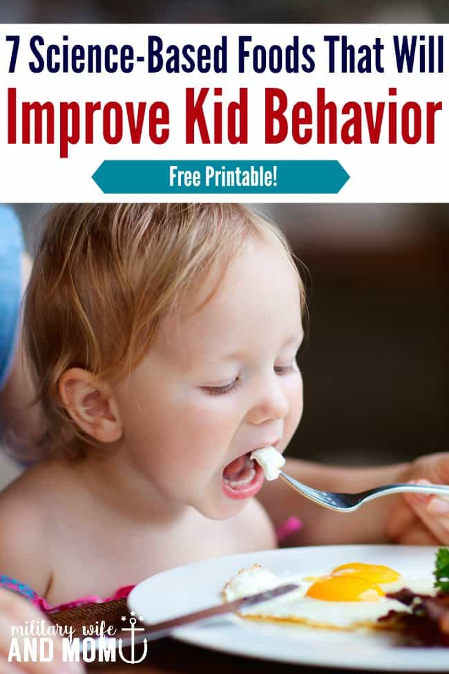 7 Foods That Will Support Better Behavior In Kids According To Science