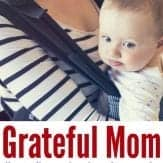 Feeling like you can't savor every moment? How to be a grateful mom without being a robot | stay at home mom | happy mom | angry mom | motherhood