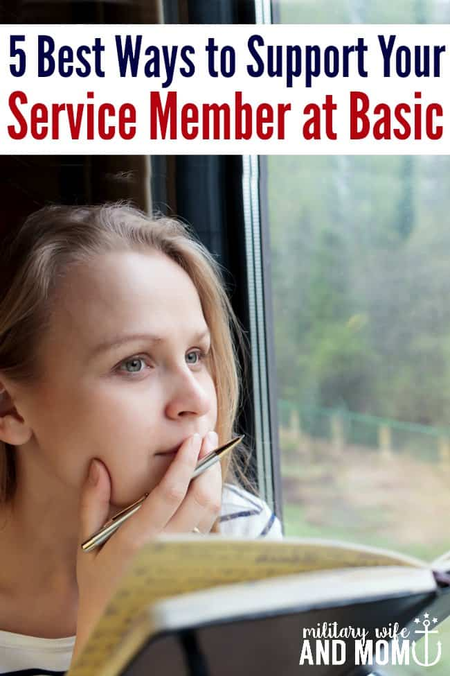 Learn how to support your service member at basic training | military girlfriend | military significant other | military spouse