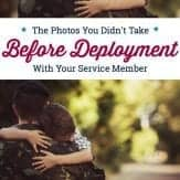 Don't forget to take these important photos before your service member deploys. #militaryphotography #militarydeployment #militaryfamily #militaryspouse #militarykids #familyphotos