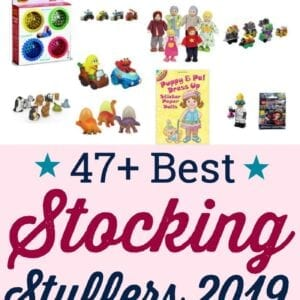 47 different and unique toddler stocking stuffers