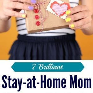 Make her day with one of these gift ideas for stay-at-home moms! I'd be thrilled to get any one of these stay-at-home mom gifts.