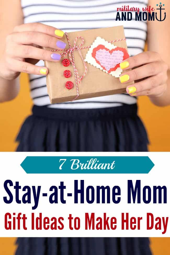 7 gift ideas for stay at home moms that will make her smile