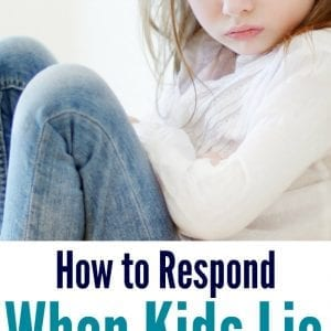Learn how to deal with a lying child. Help your child tell the truth while still keeping your boundaries and consequences. Simple, easy and peaceful!!