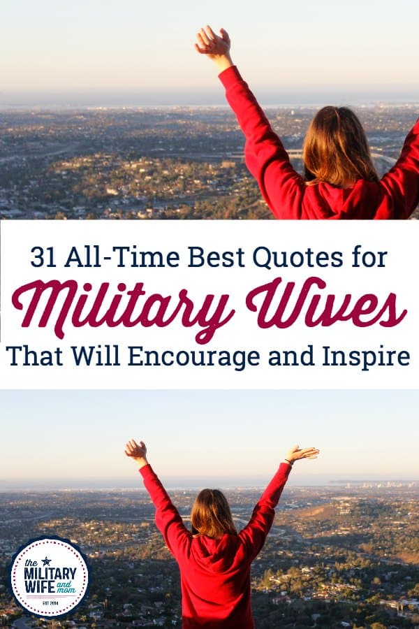 best military wife quotes for encouragement