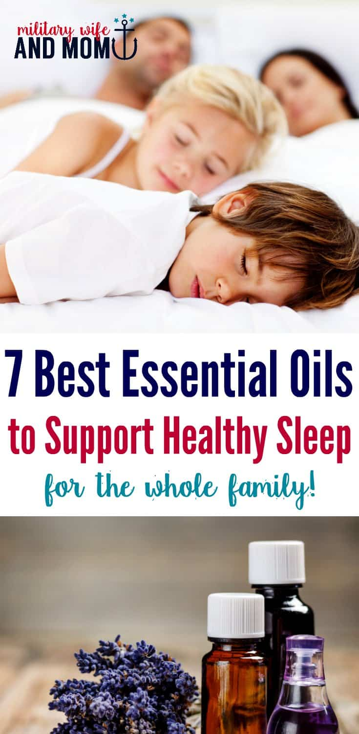 7 best essential oils to support healthy sleep habits