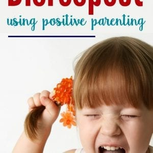How to handle disrespect and back talk using a positive parenting approach.
