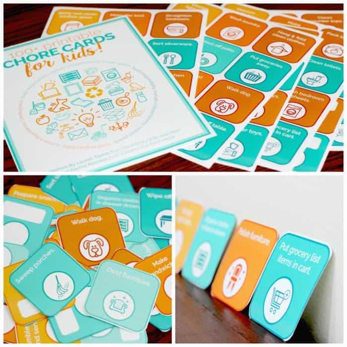 image about Printable Chore Cards named 100+ Printable Chore Playing cards for Young children in the direction of Educate Duty