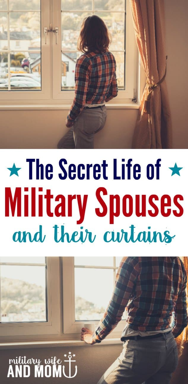 What a COOL STORY. Every military spouses needs to read this story!