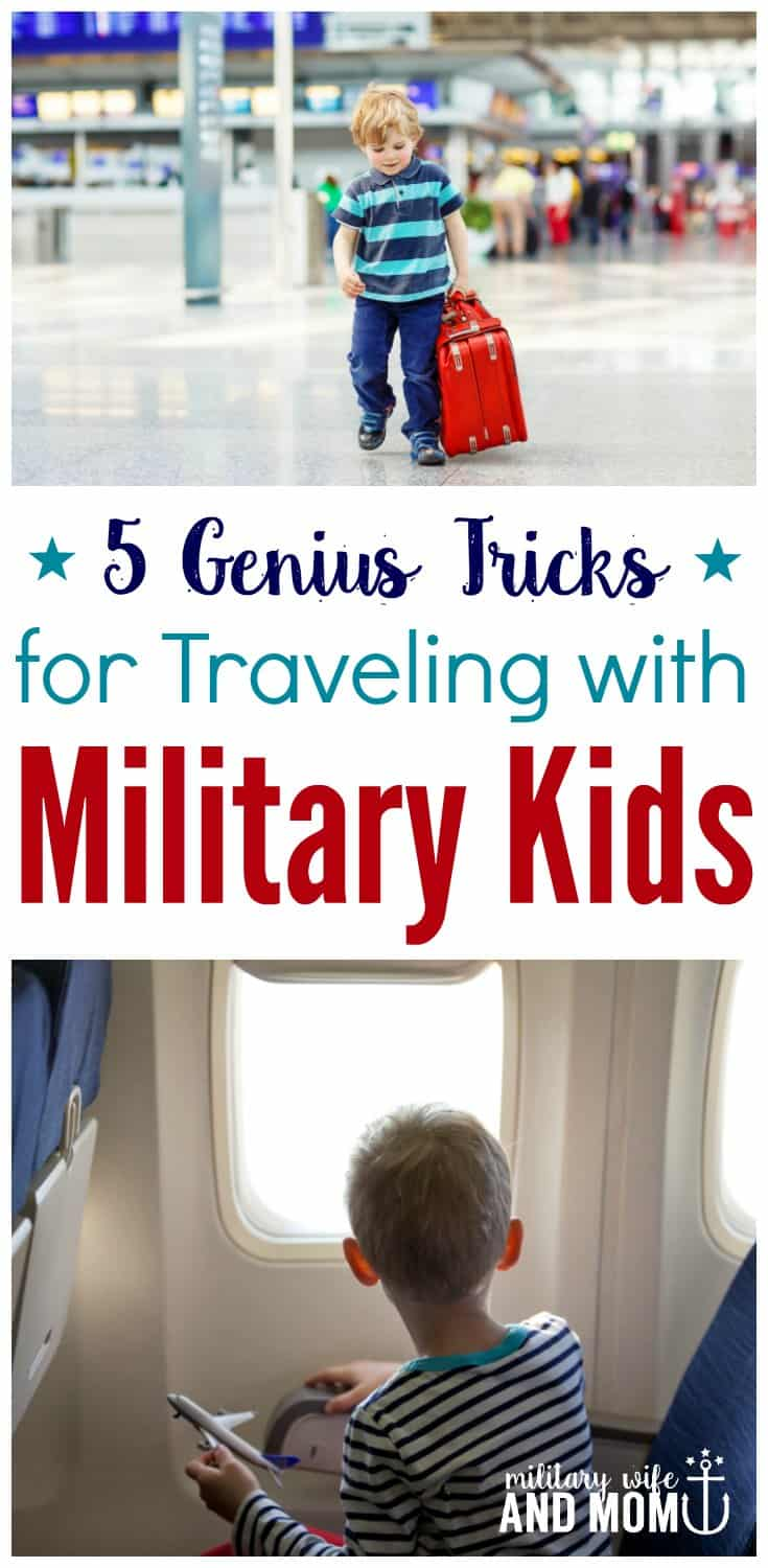 Love these tips for traveling with military kids. I would've never thought of number 3 before!