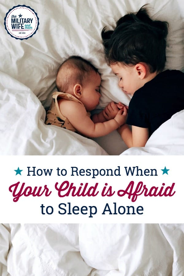 Is your child afraid to sleep alone? You might be making it worse. Here are some important ways to help you child overcome nighttime anxiety or bedtime fears