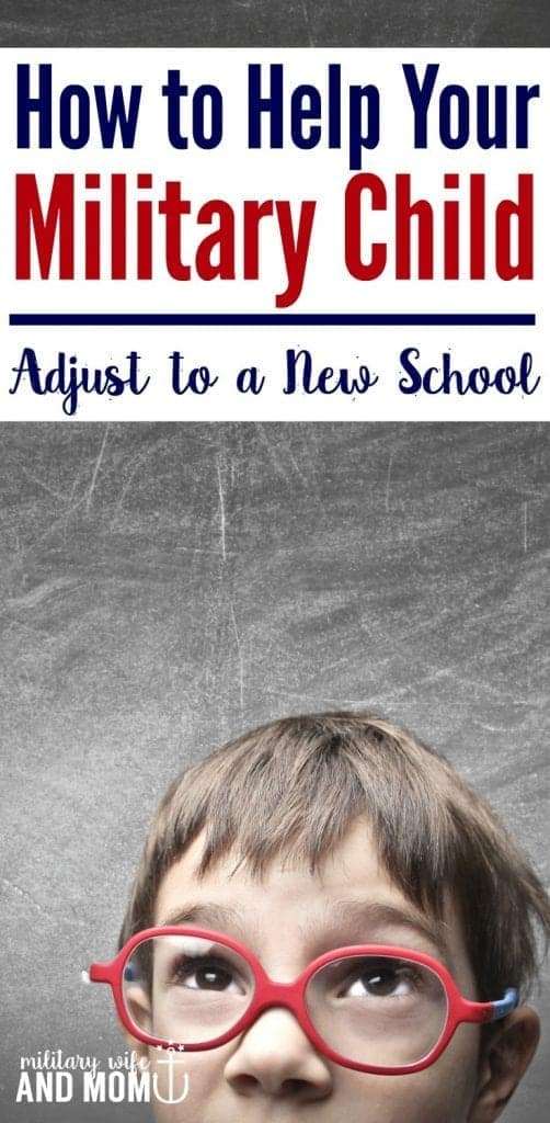 Learn 6 ways to help your military child adjust to a new school after a military PCS move. Plus, grab this PCS checklist for changing schools with military kids.