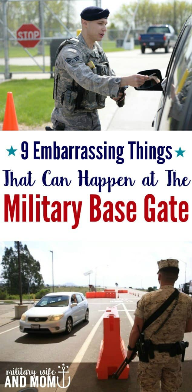 9 Embarrassing Things That Happened at The Military Base Gate