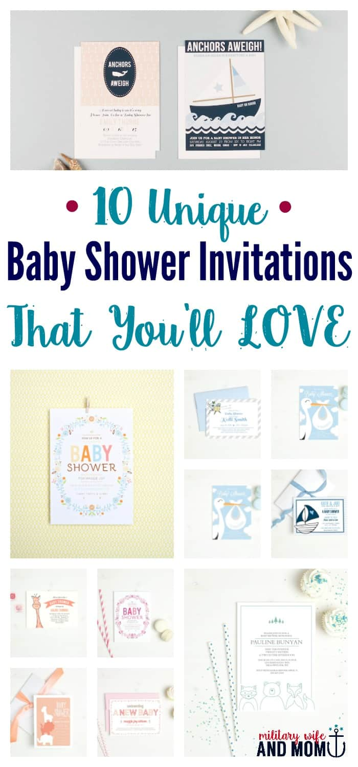 10 Unique Baby Shower Invitations That Will Make Your Guests Smile