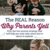 Why parents yell
