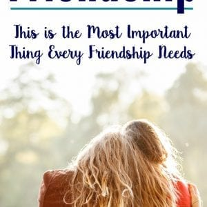 The one thing every military spouse friendship needs.
