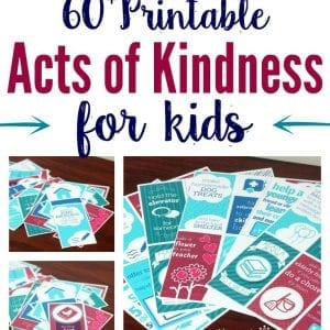 image relating to Random Acts of Kindness Cards Printable titled 60+ Printable Random Functions of Kindness Guidelines for Children: Develop