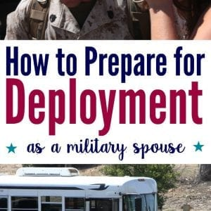 How to prepare for deployment as a military spouse