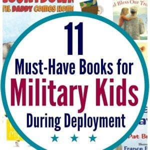 Learn some of the best books for military kids during deployment. Plus, 3 different ways to read to military kids to help them make sense of deployment.