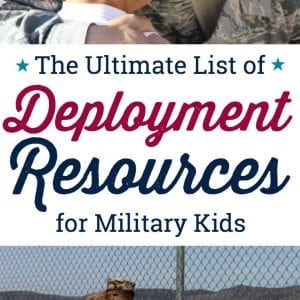 Discover programs, products and free resources to help military kids get through a parent's military deployment. These are the best deployment resources for military kids.