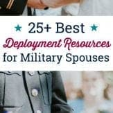 A complete list of deployment resources for military spouses in one convenient spot!