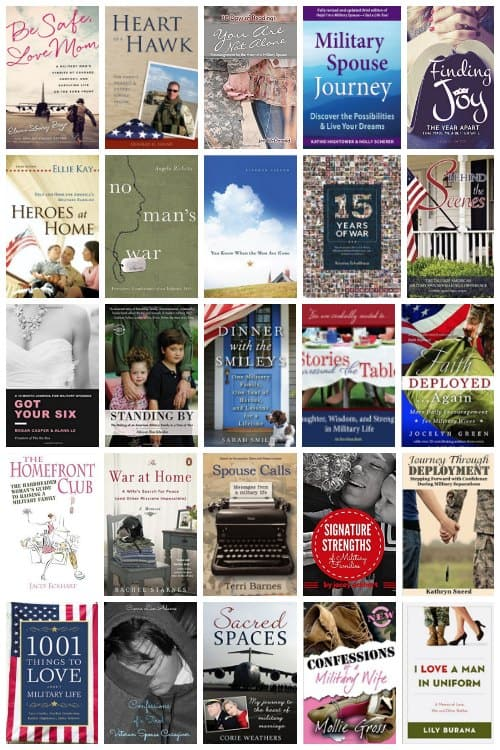 Books written by military spouses for military spouses