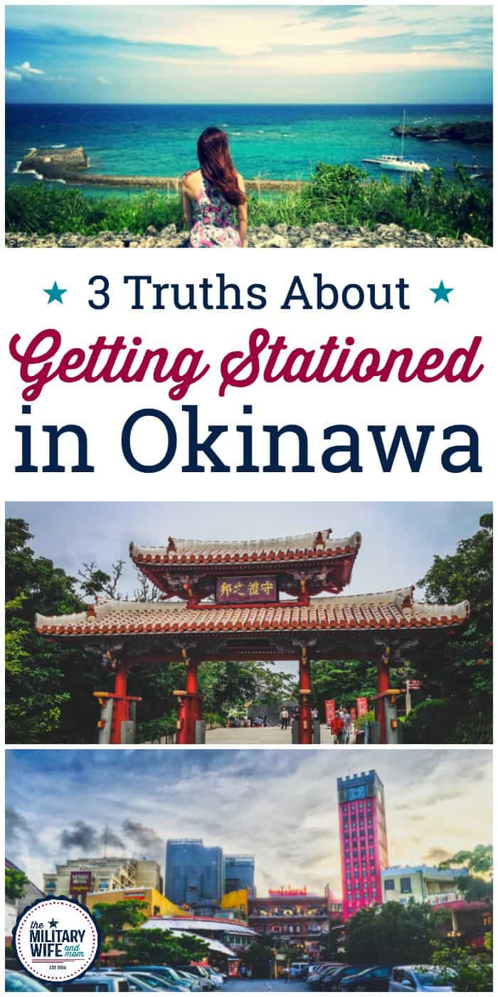 3 truths you learn after getting stationed in Okinawa. Plus, a life lesson that came full circle at the end of our 3 year tour. #OCONUS #militaryfamily #overseas #militaryspouse #dutystation #okinawa #pcs